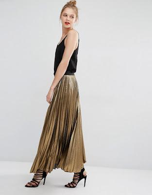 faldas largas como llevarlas
