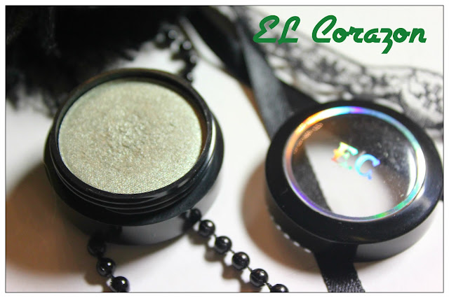 Review: EL Corazon mono eye-shadow #120.