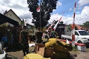 Kegiatan TMMD Berakhir Ditandai Pembongkaran Barak Para Personel