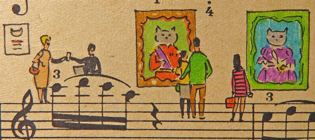 07-Cats-Lyapunov-and-Erlich-Music-Sheets-Colored-Illustrations-www-designstack-co