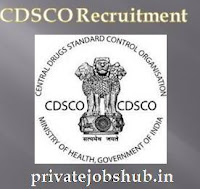 CDSCO Recruitment