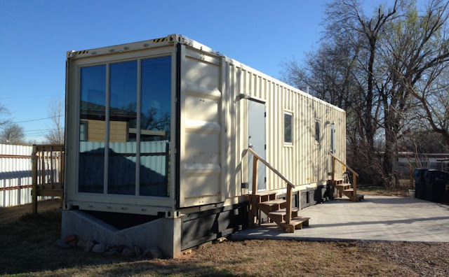 $60,000 40 ft Shipping Container Home, Oklahoma 3