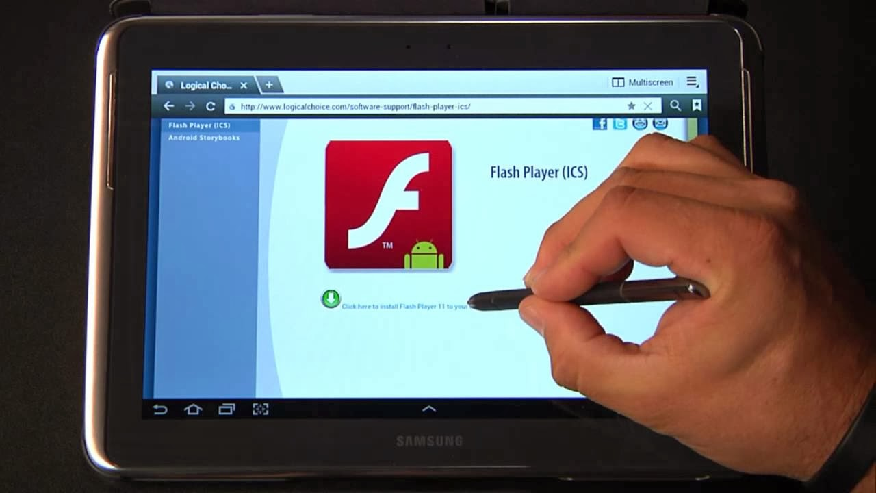 How to install ADOBE FLASH PLAYER on your Android / Tablet