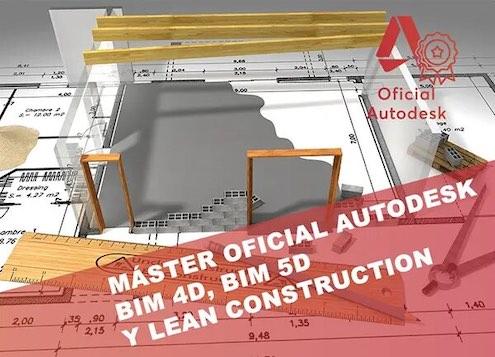 Máster BIM 4D, 5D y Lean Construction (Rendersfactory)