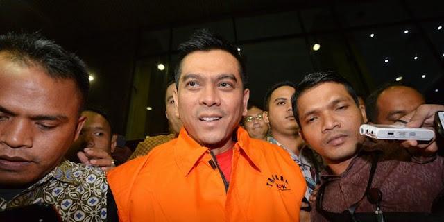 Anggota DPRD DKI Sanusi resmi ditahan KPK kasus suap raperda zonasi