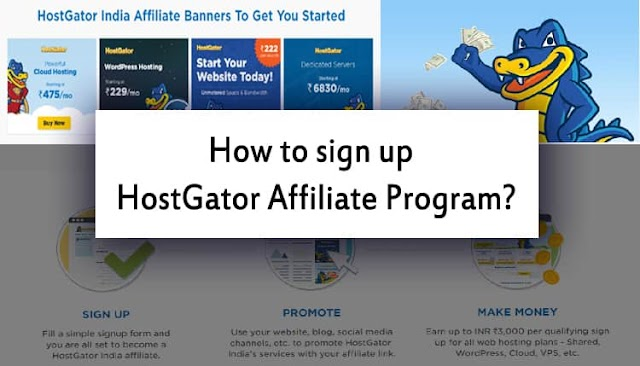 How to sign up Hostgator affiliate program in Hindi