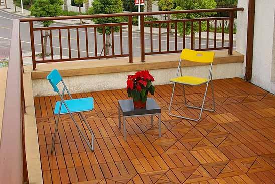 jenis kayu untuk lantai 2 - decking ulin