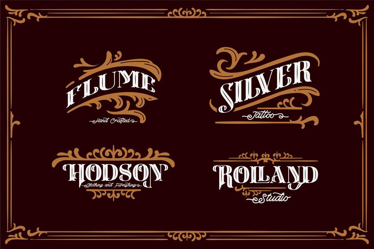 Carlingthon Vintage Font Pack 52008