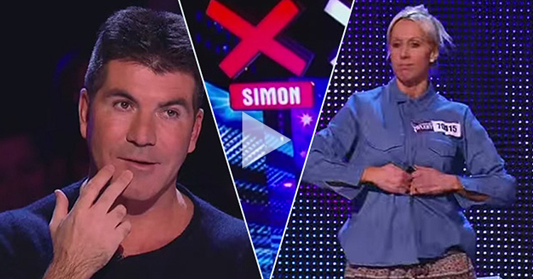 "Simon Cowell requested to remove his ""X"" after watching her perform"