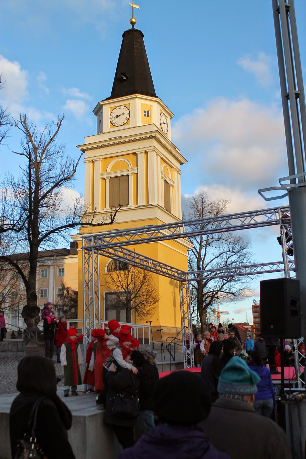 Joulunavaus Tampere