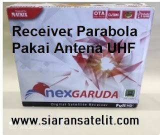 Bisakah Antena UHF Pakai Receiver Parabola atau Dekoder?
