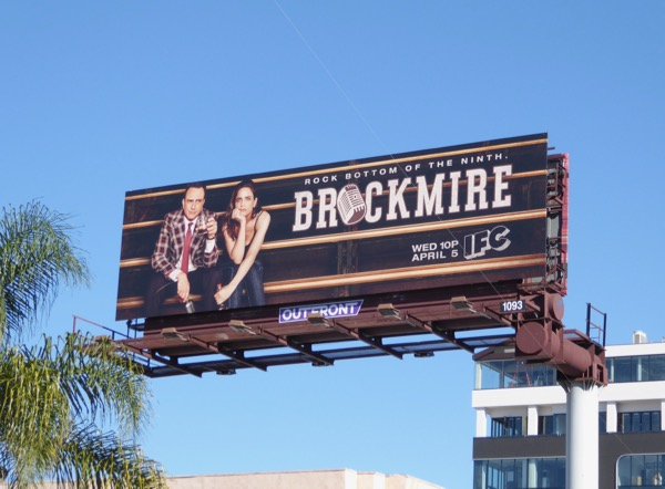 Brockmire series premiere billboard