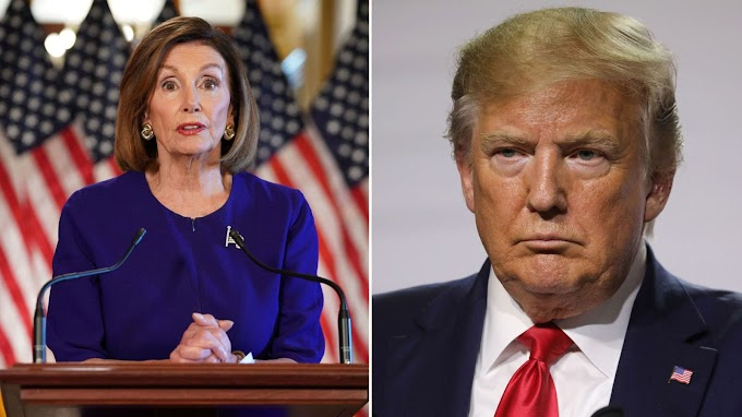 Trump writes letter to Nancy Pelosi hours before House commences impeachment vote
