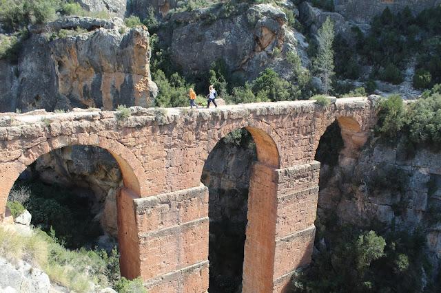 Ruta del Agua y Acueducto Romano de Peña Cortada (Chelva-Calles Valencia) ~  EXCURSIONES Y SENDERISMO