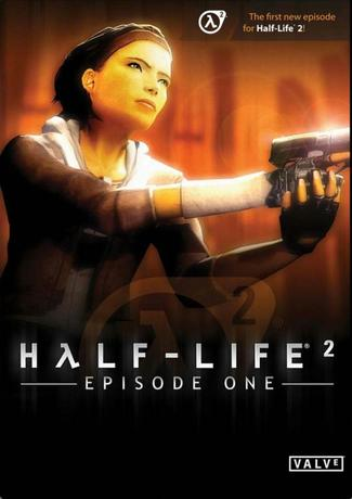 Half Life 2 Episode 1 PC Game Cover Art