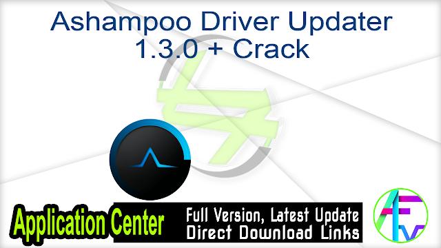 Ashampoo Driver Updater 1.3.0 + Crack
