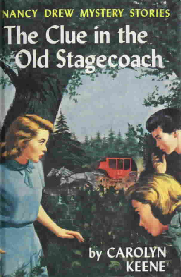 Nancy Drew Book Cover Pictures ~ Series books for girls nancy drew the clue in old