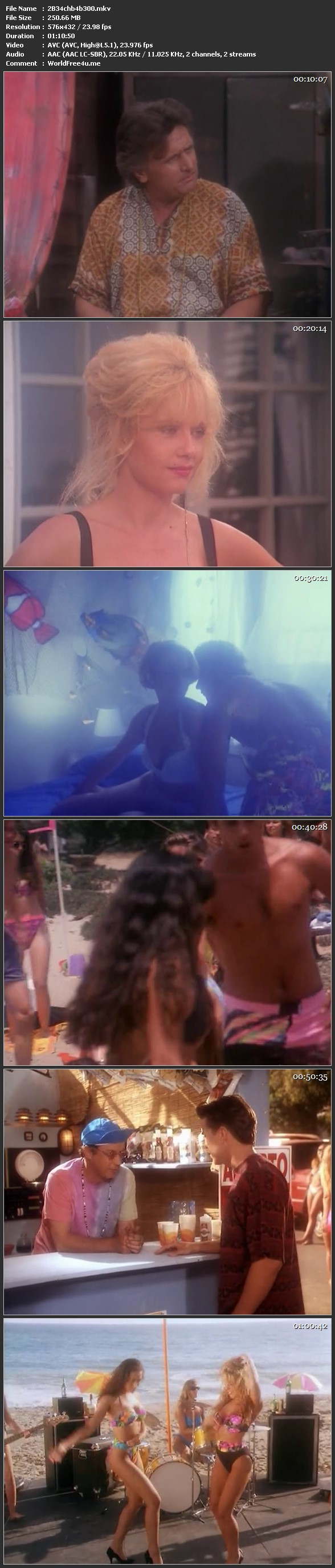 Screen Shot Of Beach Babes From Beyond 1993 Full Movie Download 300MB In Hindi Full small Size PC Movie
