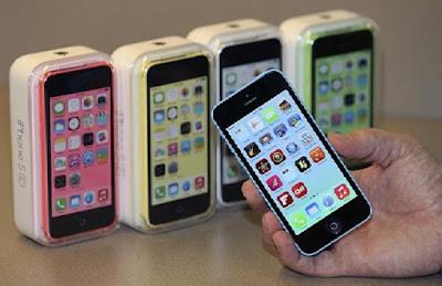 iPhone 5c sử dụng dung lượng pin khủng