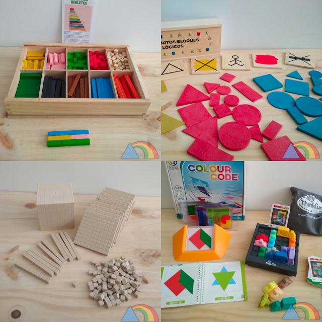 Materiales y juegos para aprender matemáticas