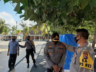 Di Hari Kemerdekaan, Kapolresta Beri Imbauan Covid-19  di Lokasi  Wisata