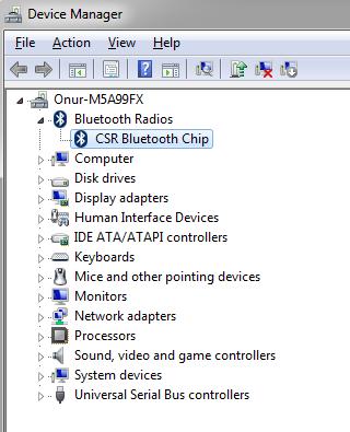 Driver Csr8510 A10 : driver, csr8510, Yaşarlar:, Bluetooth, Generic, Windows