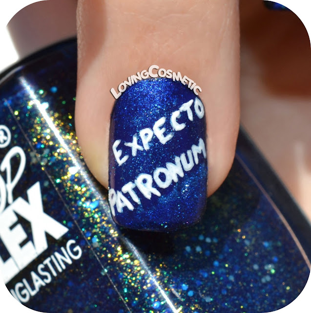 Uñas harry potter nails nailart nail art severus snape alan rickman expecto patronus always