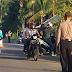 Petugas Posko Siaga Covid-19 Dilintas Batas, Menindak Tegas Pengendara
