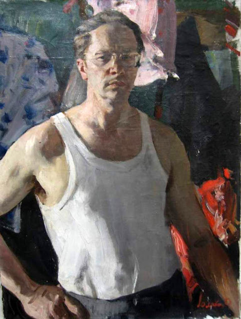 Oleg Lomakin, International Art Gallery, Self Portrait, Art Gallery, Portraits Of Painters, Fine arts, Self-Portraits, Oleg Leonidovich Lomakin, Self portrait