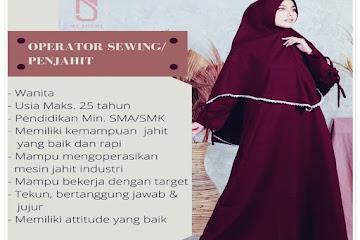 Lowongan Kerja Operator Sewing My Shawl