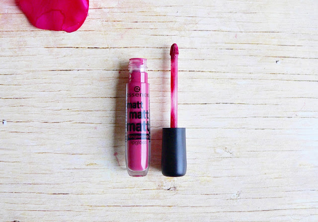 Essence matt matt matt longlasting lipgloss 03 girl of today review swatches