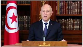 (بالفيديو) في لقاء سعيد برئيس المجلس الأعلى للقضاء: نحتاج لقاحا للكذب لا للكورونا