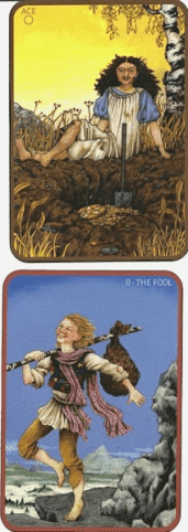 Anna K Tarot, self published version