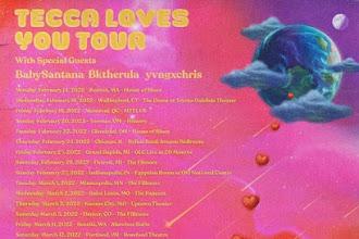 LIL TECCA ANNOUNCES NORTH AMERICAN TECCA LOVES YOU TOUR 2022
