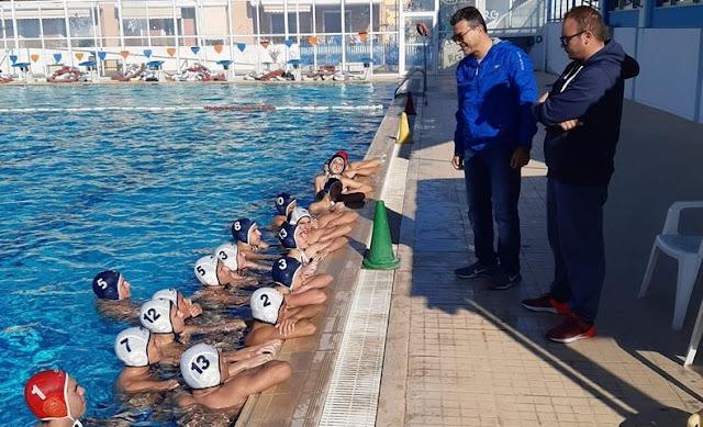 Ο Περιφερειακός Ομοσπονδιακός προπονητής υδατοσφαίρισης Νοτιοδυτικής Ελλάδας στο Ν.Ο. Ναυπλίου