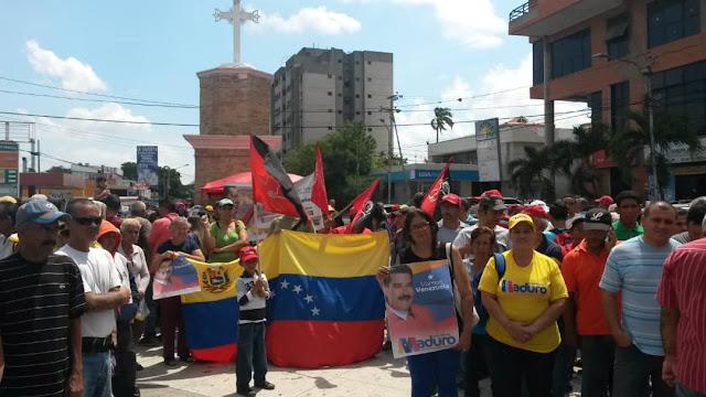 F.P.A.A. Instala tribuna Anti Imperialista en Palavecino Estado Lara