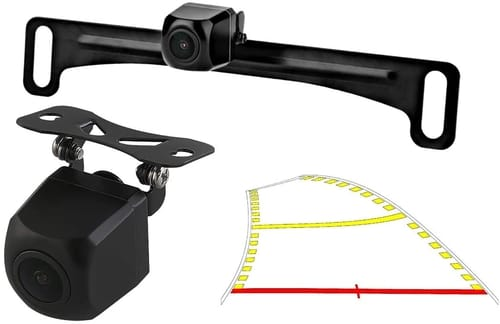GreenYi-59 Backup Camera with Dynamic Moving Guide Line