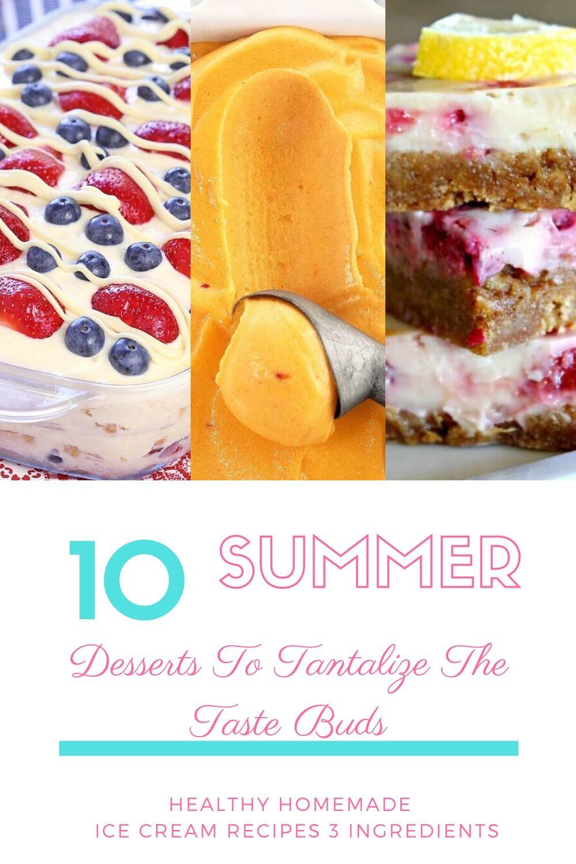 healthy homemade ice cream recipes 3 ingredients