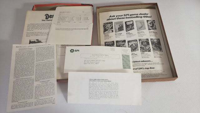 Contents of the SPI Demons boxed game