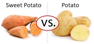 Keledek vs Kentang. Yang mana lebih baik?