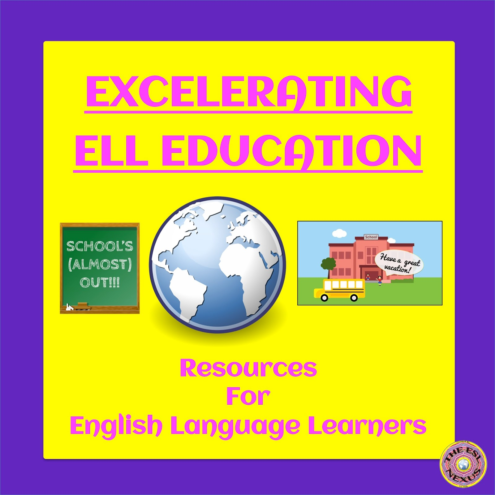 Excelerating ELL Education's May linky party: End of Year Resources