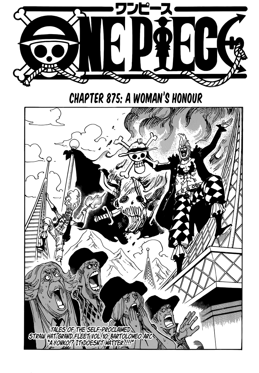 One Piece - Đảo Hải Tặc trang 1