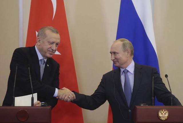 """Λαβρόφ: Η επιχείρηση """"Πηγή Ειρήνης"""" φτάνει στο τέλος της"""