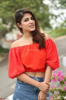 Rhea Chakraborty in Red Crop Top and Denim Shorts Spicy Pics ~  Exclusive 085.JPG