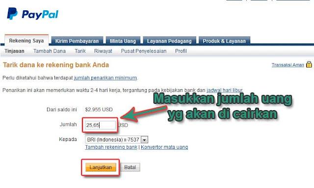 Cara Mencairkan Uang dari Paypal ke Bank Lokal Tanpa Verifikasi