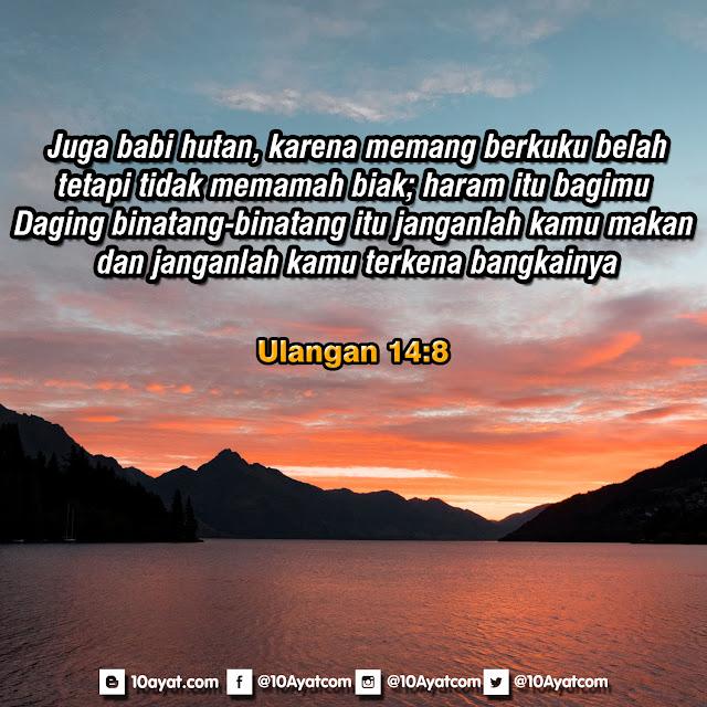 Ulangan 14:8