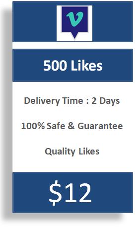 500 Vimeo Likes