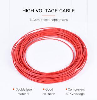 Komponen Sistem Pengapian Konvensional, Kabel tegangan tinggi