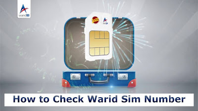 Warid number check code 2021  How to Check Warid Sim Number