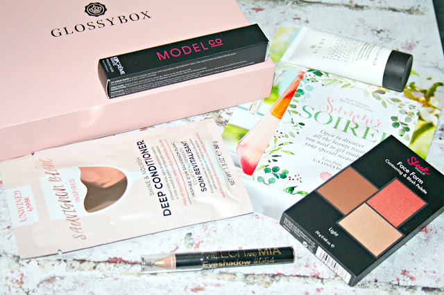 Glossybox Summer Soiree Box Contents